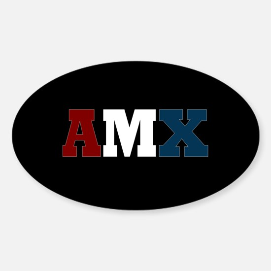 AMC AMX Sticker (Oval)