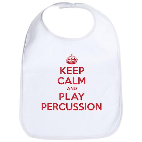 Keep Calm Play Percussion Bib