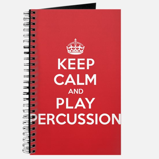 Keep Calm Play Percussion Journal