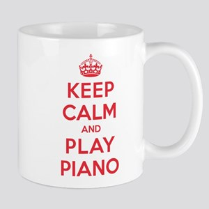 Keep Calm Play Piano Mug
