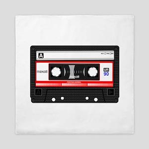 Cassette Black Queen Duvet