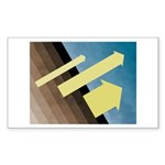 Head To The Sky Sticker (Rectangle 10 pk)