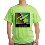 Head To The Sky Green T-Shirt