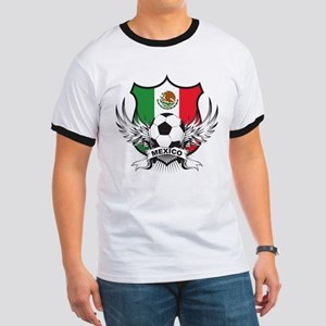 Mexico World Cup Soccer Ringer T