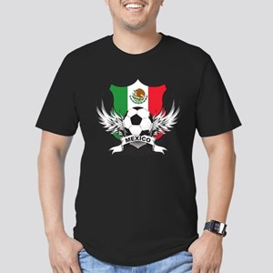 Mexico World Cup Soccer Men's Fitted T-Shirt (dark