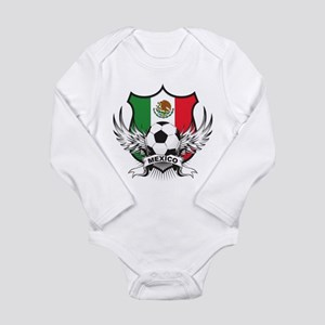Mexico World Cup Soccer Long Sleeve Infant Bodysui
