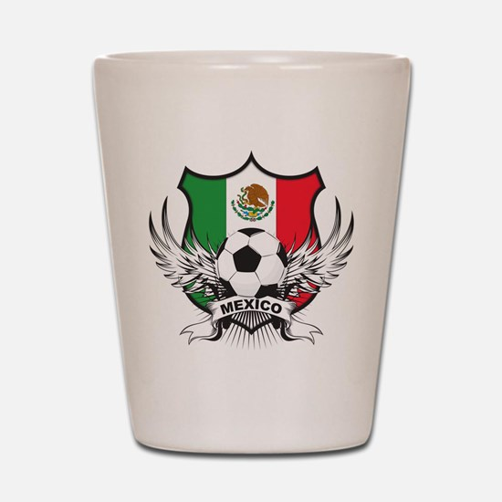 Mexico World Cup Soccer Shot Glass