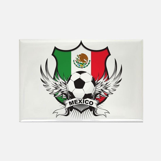 Mexico World Cup Soccer Rectangle Magnet (100 pack