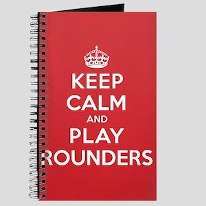 Keep Calm Play Rounders Journal