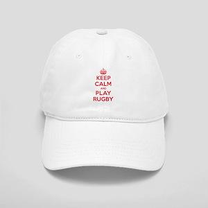 Keep Calm Play Rugby Cap