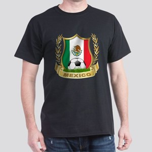 Mexico World Cup Soccer Dark T-Shirt