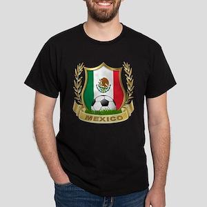 Mexico World Cup Soccer Dark T-Shirt