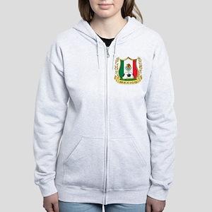 Mexico World Cup Soccer Women's Zip Hoodie
