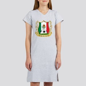 Mexico World Cup Soccer Women's Nightshirt