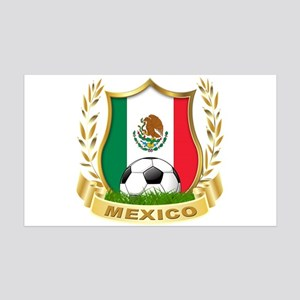Mexico World Cup Soccer 35x21 Wall Decal