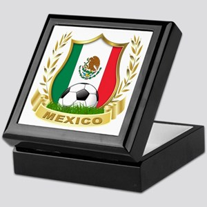 Mexico World Cup Soccer Keepsake Box
