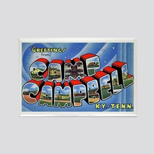 Camp Campbell KY TN Rectangle Magnet