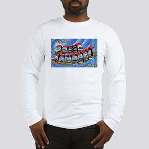 Camp Campbell KY TN (Front) Long Sleeve T-Shirt