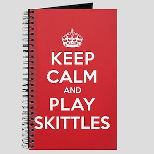 Keep Calm Play Skittles Journal