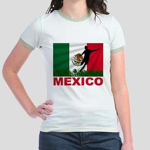 Mexico World Cup Soccer Jr. Ringer T-Shirt