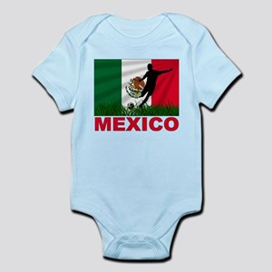 Mexico World Cup Soccer Infant Bodysuit
