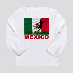 Mexico World Cup Soccer Long Sleeve Infant T-Shirt