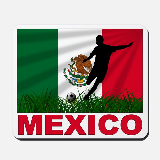 Mexico World Cup Soccer Mousepad