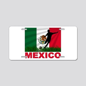 Mexico World Cup Soccer Aluminum License Plate