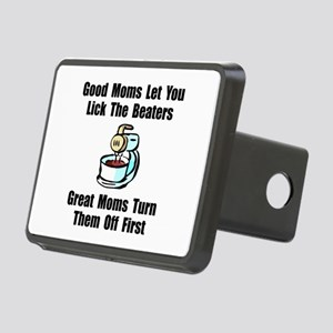 Mom Lick The Beaters Rectangular Hitch Cover