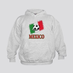 Mexico World Cup Soccer Kids Hoodie