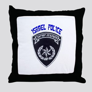 Israel Police Throw Pillow