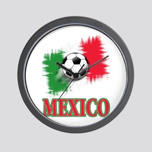 Mexico World Cup Soccer Wall Clock