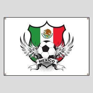 Mexico World Cup Soccer Banner