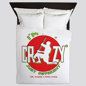 Im Not Crazy (lacrosse) Queen Duvet