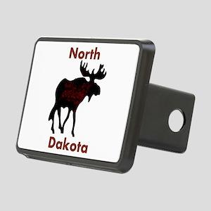 Customized Plain Moose Rectangular Hitch Cover