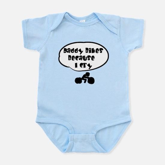 Daddy Bikes Infant Bodysuit