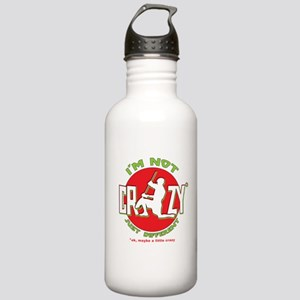 Im Not Crazy (lacrosse) Stainless Water Bottle 1.0