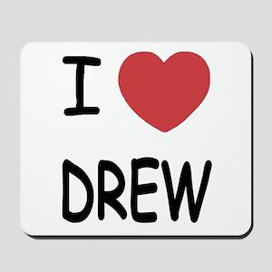 I heart Drew Mousepad