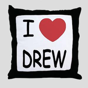 I heart Drew Throw Pillow