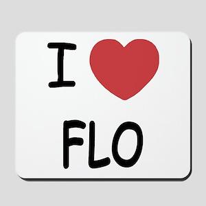 I heart Flo Mousepad