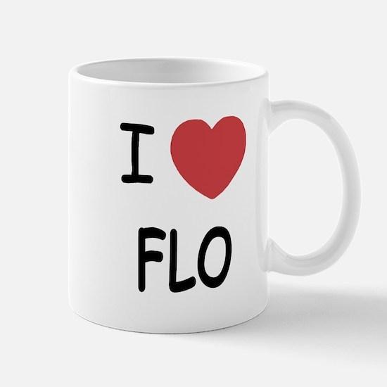 I heart Flo Mug