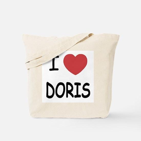 I heart Doris Tote Bag