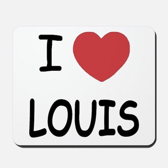I heart Louis Mousepad