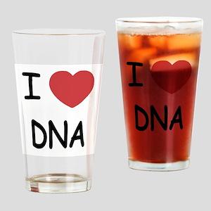 I heart DNA Drinking Glass
