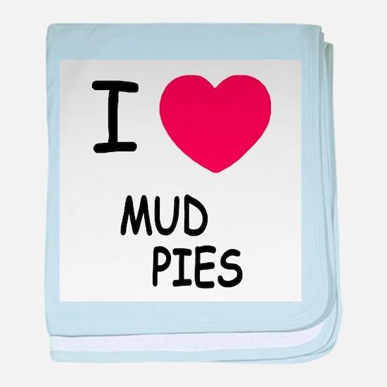 I heart Mud Pies baby blanket