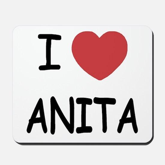 I heart Anita Mousepad