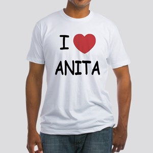 I heart Anita Fitted T-Shirt