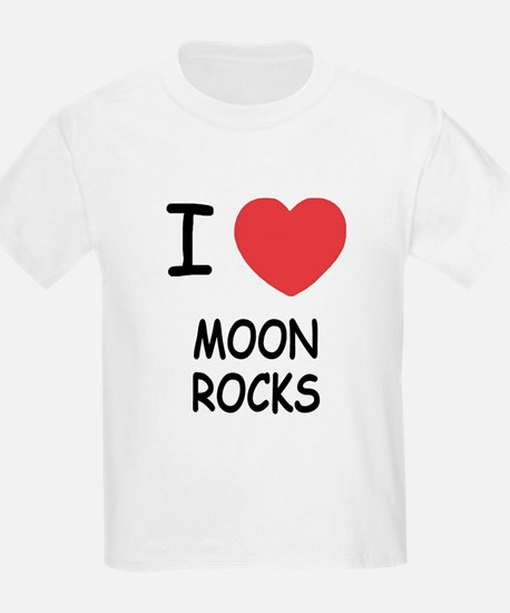 I heart Moon Rocks T-Shirt