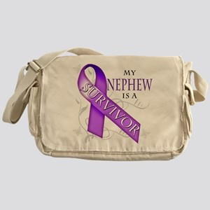 My Nephew is a Survivor Messenger Bag