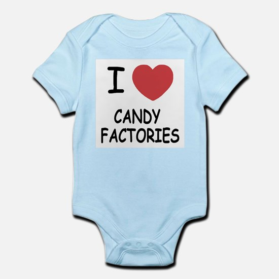 I heart Candy Factories Infant Bodysuit